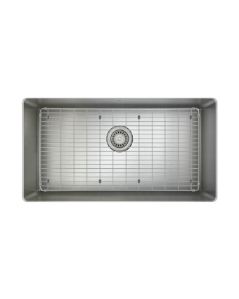 """Évier simple en acier inoxydable avec grille ProInox H75 30"""" x 16"""" x 9"""""""