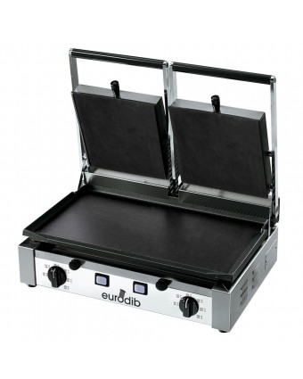 Grille-panini plat double série PD - 3000 W