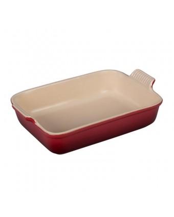 Plat de cuisson en grès rectangulaire 4,7 L - Cerise