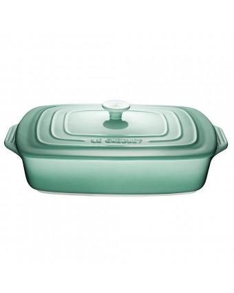 Plat de cuisson rectangulaire 3,3 L avec couvercle - Sauge
