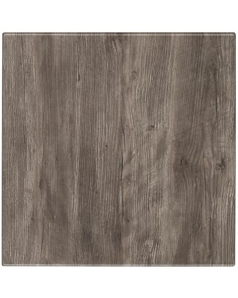 "Dessus de table carré Classic 24"" - Ponderosa Grey"