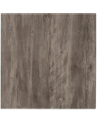 "Dessus de table carré Classic 32"" - Ponderosa Grey"