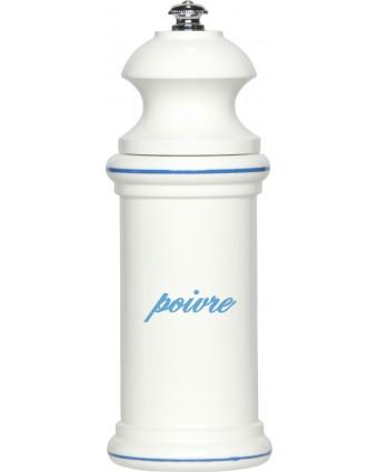 Moulin à poivre Provencal 6'' - Blanc et bleu