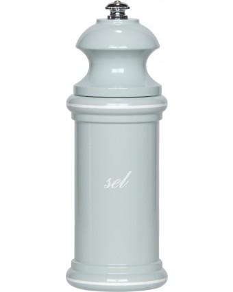 """Moulin à sel Provencal 6"""" - Bleu gris et blanc"""