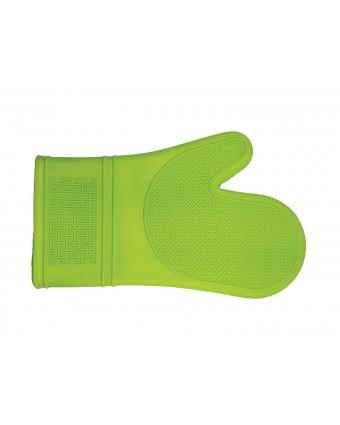 "Mitaine de four en silicone 12"" - Vert"