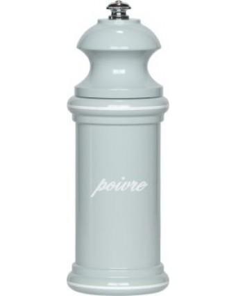 """Moulin à poivre Provencal 6"""" - Bleu gris et blanc"""
