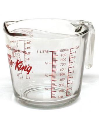 Tasse à mesurer en verre - 1 L