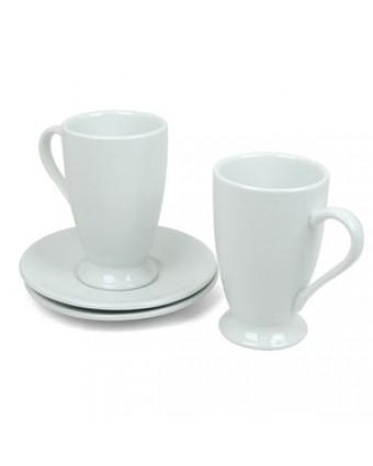Ensemble café Irlandais - Blanc