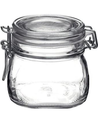 Récipient en verre étanche 17 oz