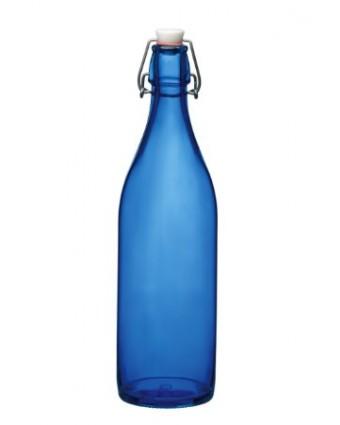 Bouteille en verre à étrier 33,75 oz - Bleu