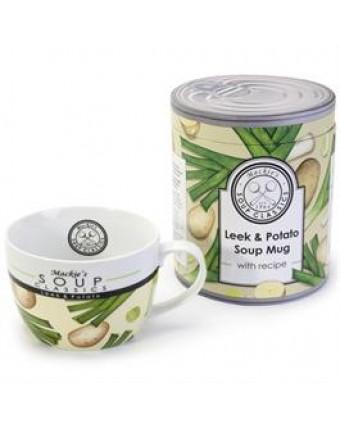 Tasse à soupe 22 oz - Poireau et pomme de terre
