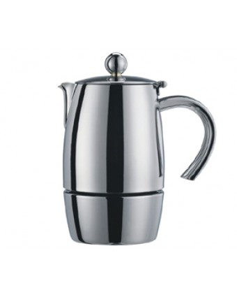 Cafetière en acier inoxydable Liberta - 10 tasses