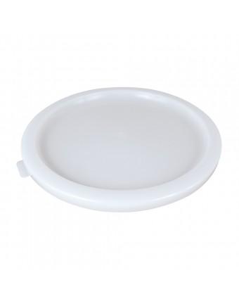 Couvercle pour récipients ronds gradués de 5,7 et 7,6 L - Blanc