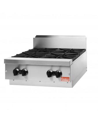 """Table de cuisson au gaz 24"""" - 64 000 BTU / Valve de sécurité"""