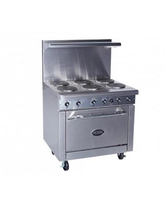Cuisinière électrique 36'' - 208 V / 3 Ph