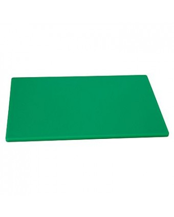 """Planche à découper en polyéthylène 24"""" x 18"""" - Vert"""