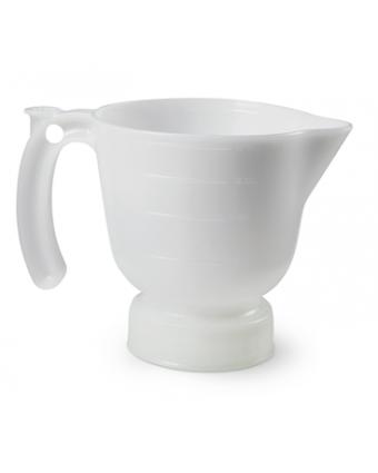 Entonnoir et tasse à mesurer en polyéthylène Safety Mate