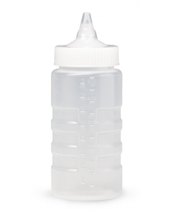 Bouteille à pression refermable Traex 16 oz - Transparent