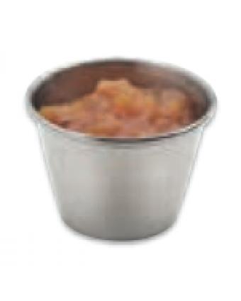 Récipient à condiment en acier inoxydable 1,5 oz