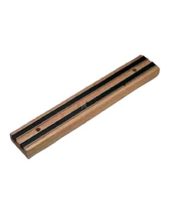 """Barre à couteaux magnétique en bois 13"""""""
