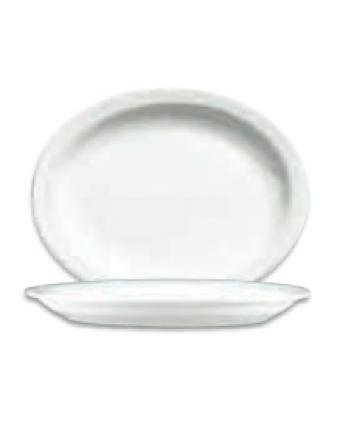 "Assiette de service ovale 11,5"" - Palm"