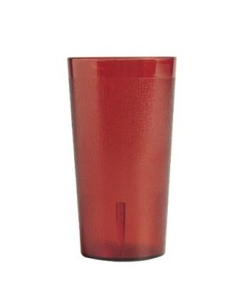 Verre en plastique rouge 12,6 oz - Colorware