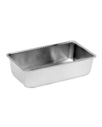 """Moule à pain rectangulaire en aluminium 9,25"""" x 5,1"""""""