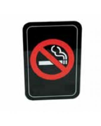 """Symbole « Défense de fumer » en plastique 4"""" x 6"""""""