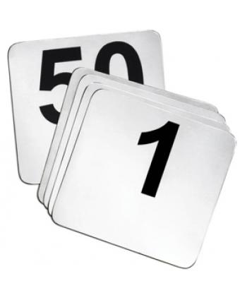 Cartes numérotées 1 à 50