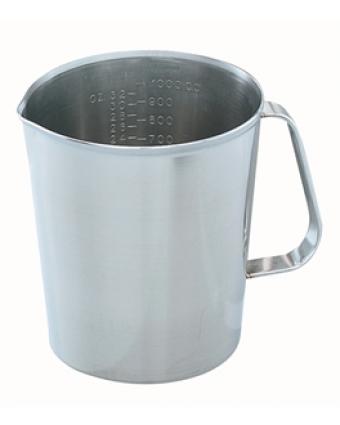 Tasse à mesurer en acier inoxydable - 0,9 L