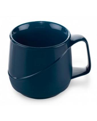 Tasse en plastique isolante Allure 8 oz - Bleu (caisse de 48)