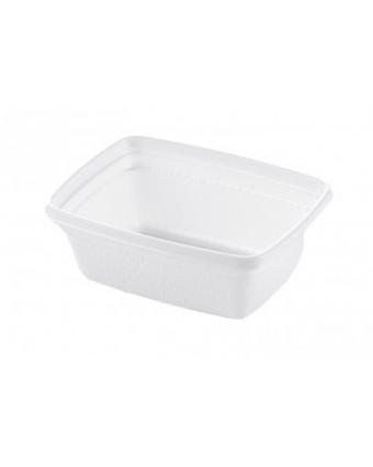 Bols en plastique rectangulaires jetables 8 oz (caisse de 1000)