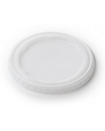 Couvercles jetables ronds pour verres de 4 oz (caisse de 4000)