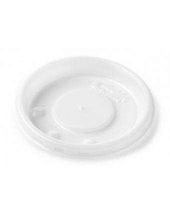 Couvercles jetables ronds pour mugs de 8 oz et bols de 5 oz Allure (caisse de 2000)