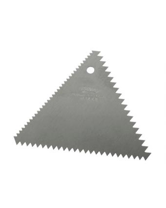 """Peigne de décoration en aluminium 4,25"""""""