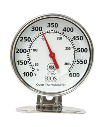Thermomètre de four à cadran (100°F à 600°F)
