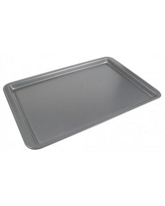 """Plaque de cuisson en acier aluminisé antiadhésive 11"""" x 17"""""""