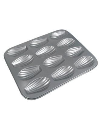 Moule à madeleines en acier aluminisé