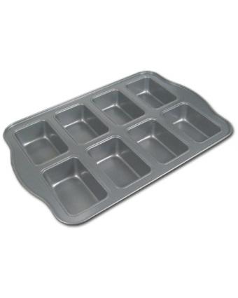 Moule à mini-pains en acier aluminisé