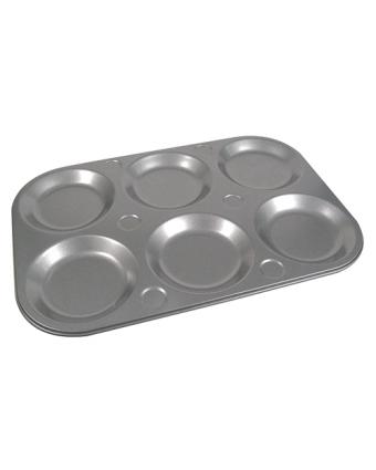 Moule à têtes de muffins en acier aluminisé