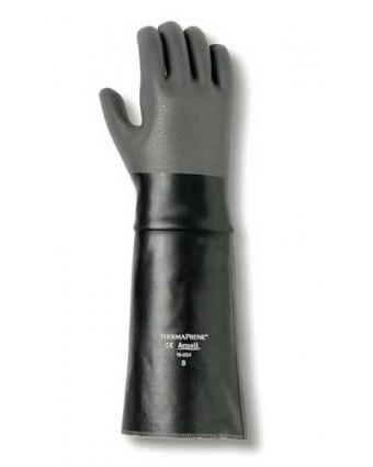 """Paire de gants en néoprène AlphaTec 18"""" - Noir"""