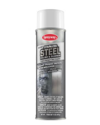 Produit nettoyant pour l'acier inoxydable