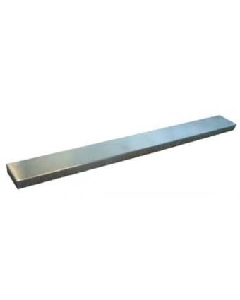"""Barre à couteaux magnétique en acier inoxydable 17,75"""""""