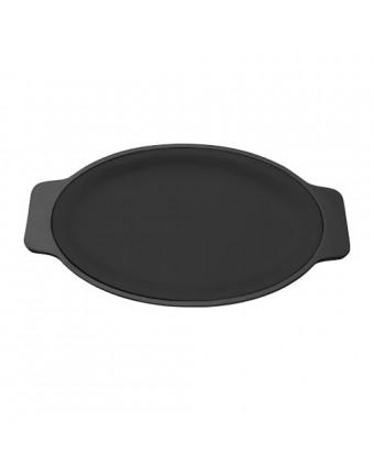 Sous-assiette Ovale - Noir
