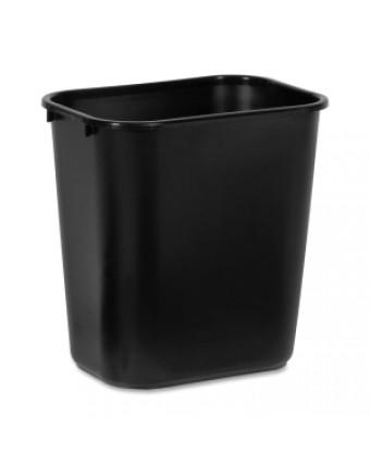 Poubelle rectangulaire 26,5 L - Noir