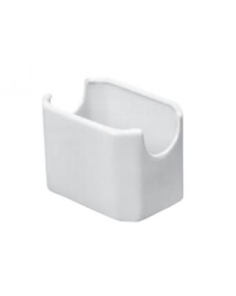 Porte-sachets en céramique - Blanc