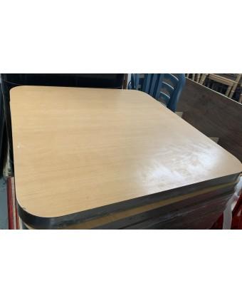 Dessus de table carré - Beige (usagé)