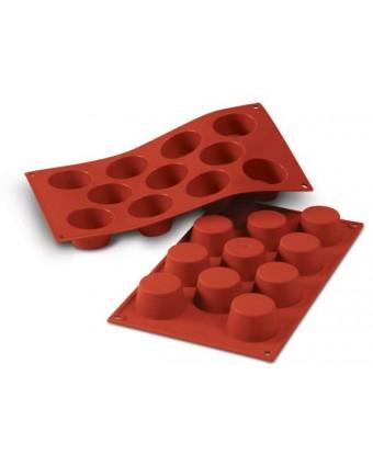 Moule en silicone à onze cavités - Mini Muffins