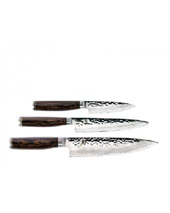 Ensemble de couteaux de départ trois pièces - Premier