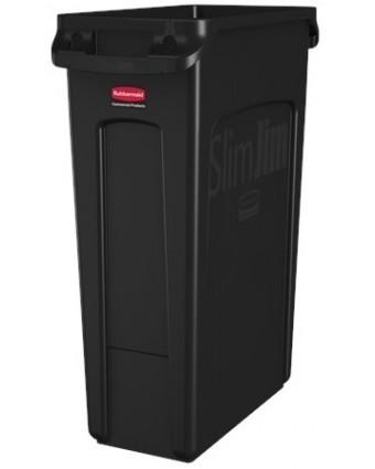 Poubelle Slim Jim 60,6 L - Noir